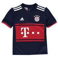 Tricou Deplasare adidas Bayern Munich 2017 2018 Junior