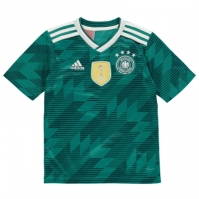Tricou Deplasare adidas Germany 2018 Junior
