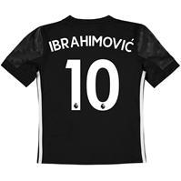 Tricou Deplasare adidas Manchester United Ibrahimovic 2017 2018 pentru Copil