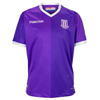 Tricou Deplasare Macron Stoke City 2018 2019 Junior