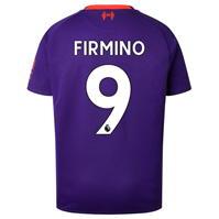 Tricou Deplasare New Balance Liverpool Roberto Firmino 2018 2019 Junior