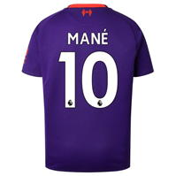 Tricou Deplasare New Balance Liverpool Sadio Mane 2018 2019 Junior