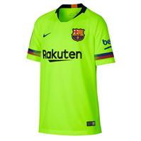 Tricou Deplasare Nike Barcelona 2018 2019 Junior