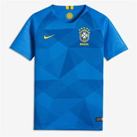 Tricou Deplasare Nike Brazil 2018 Junior