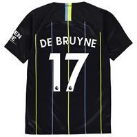Tricou Deplasare Nike Manchester City Kevin De Bruyne 2018 2019 Junior