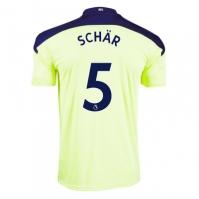 Tricou Deplasare Puma Newcastle United Fabian Schar 2020 2021 Junior