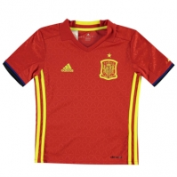 adidas Spain Home Jersey 2016 de baieti Junior