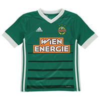 adidas Rapid Wien Home Jersey 2017 2019 de baieti Junior