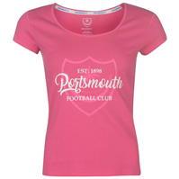 Tricouri Team FC Crest Print pentru Femei