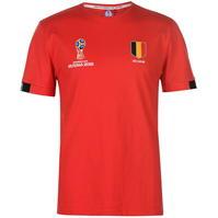 Tricouri FIFA World Cup Russia 2018 Belgium Core pentru Barbati