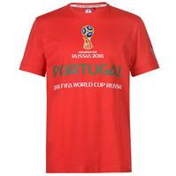 Tricouri FIFA World Cup Russia 2018 Portugal Graphic pentru Barbati