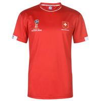 Tricouri FIFA World Cup Russia 2018 Switzerland Poly pentru Barbati