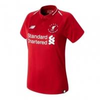 Tricou New Balance Liverpool 6 Times Football pentru Femei