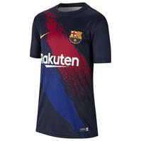 Tricou Nike Barcelona Pre Match 2019 2020 Junior