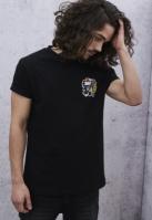 Tricou Indian Logo negru Mister Tee