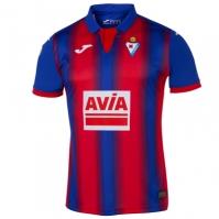 Tricou Joma 1st Eibar albastru-rosu cu maneca scurta