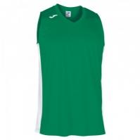 Tricou Joma Cancha III verde-alb fara maneci