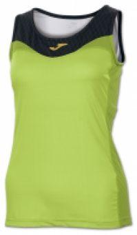 Tricou Joma Free verde-negru fara maneci pentru Femei