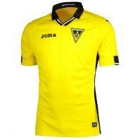 Tricou Joma Home Alemannia Aachen galben cu maneca scurta