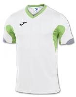Tricouri Joma T- Master alb-verde cu maneca scurta