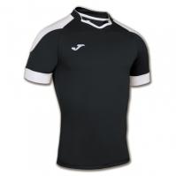 Tricou Rugby Joma negru cu maneca scurta