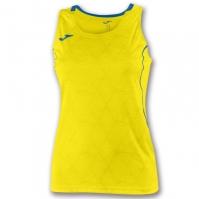 Tricou Joma Record II fara maneci galben pentru Femei