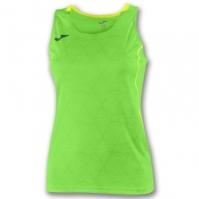 Tricou Joma Record II fara maneci verde Fluor pentru Femei