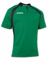 Tricou Rugby Joma verde-negru cu maneca scurta