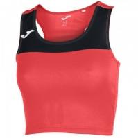Tricou Joma Race Coral-negru fara maneci pentru Femei