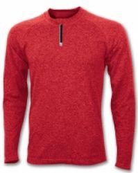 Tricouri Joma T- Skin rosu cu maneca lunga