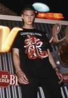 Tricou Mister Tee Dragon negru