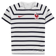 Tricouri Nike France Pre Match Junior