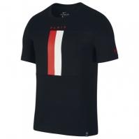 Tricouri Nike Paris Saint Germain Crest 2019 2020 pentru Barbati