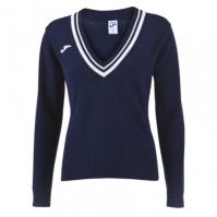 Tricou Polo Tenis 80 Joma cu maneca lunga bleumarin pentru Femei