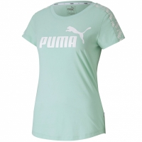 Tricou Puma Amplified verde 581218 32 pentru femei