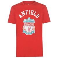 Tricouri Source Lab Liverpool Crest pentru Barbati