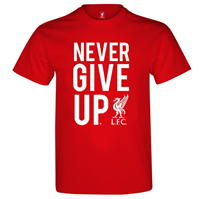 Tricouri Source Lab Liverpool Never Give Up Junior