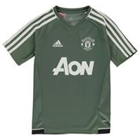 adidas Manchester United Training Jersey de baieti Junior