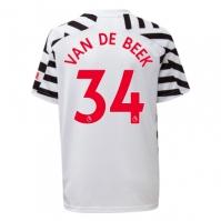 Tricou adidas Manchester United Donny Van De Beek Third 2020 2021 Junior