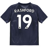Tricou adidas Manchester United Marcus Rashford Third 2018 2019 Junior