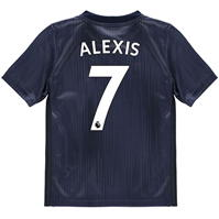 Tricou adidas Manchester United Alexis Sanchez Third 2018 2019 Junior
