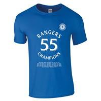 Tricouri Team Rangers 55 Champions pentru Barbati