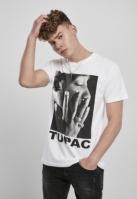 Tricou Tupac Profile alb Mister Tee
