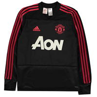 adidas Manchester United Training Top 2018 2019 Junior