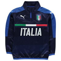 Puma Italia FIGC Quarter Zip Training Top de baieti Junior