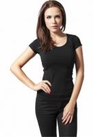 Tricouri femei basic negru Urban Classics