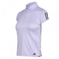 Tricouri Polo adidas Club 3 Stripe pentru Femei