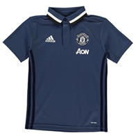 Tricouri Polo adidas Manchester United FC Training Junior