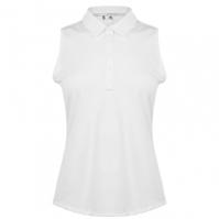 Tricouri Polo adidas Microdot Sleeveless pentru femei