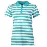 Tricouri polo cu dungi Full Circle Shirt pentru Femei